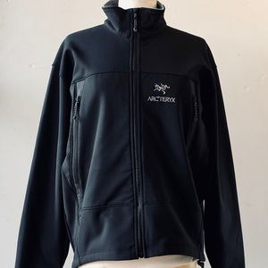 Arcteryx Black Polartec Softshell